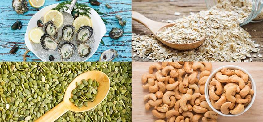 Natural Foods With High Zinc Content