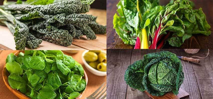 leafy greens digestion